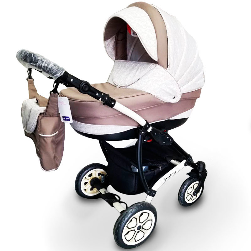 Baby Stroller 2 in 1 AVALON Latte