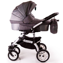 Baby Stroller 2 in 1 Sherry Lux Gray