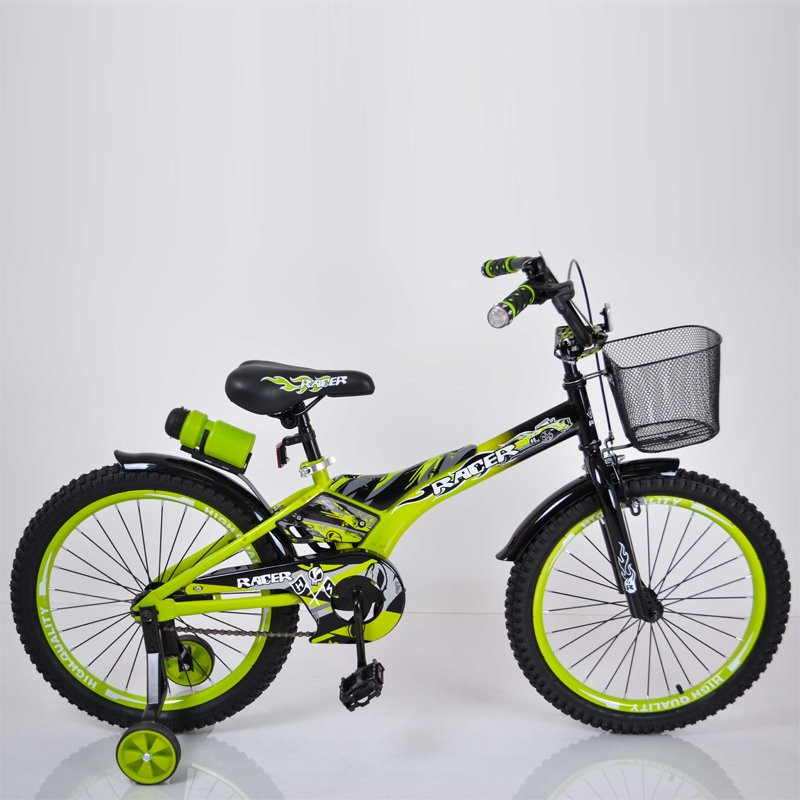 "Children's Bike ""Racer-20"" inches of green"
