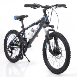 Bike HAMMER-20 Black-Blue