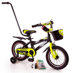 Children's bike with handle