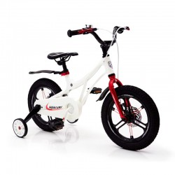 Children's Bike 14-MERCURY Magnetic White Frame