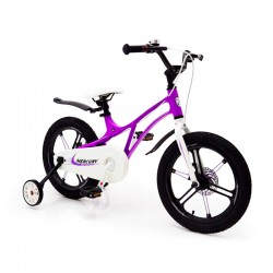 Children's Bike 14-MERCURY Magnesium Frame Violet